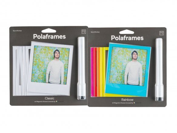 Polaframes, magnetic picture frame