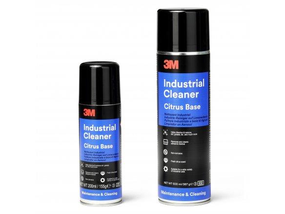 3M IC industrial cleaner spray, lemon-based