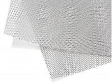 Malla desplegada de aluminio, fina