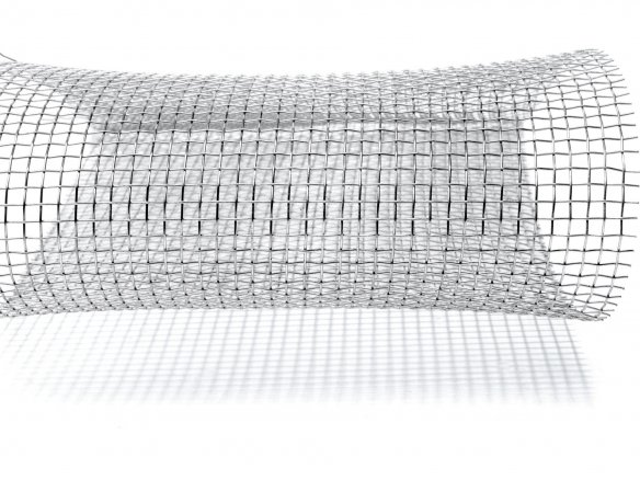 Wire mesh, aluminium, flexible