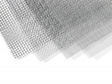 Wire mesh, steel, flexible