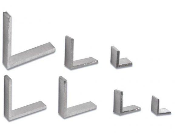 Perfil en L de aluminio, equilátero