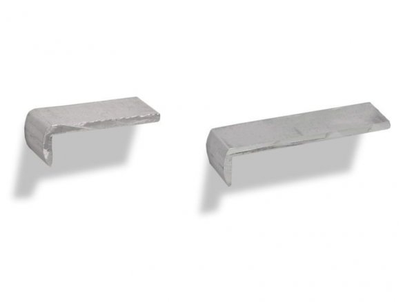 Aluminium table edge profile