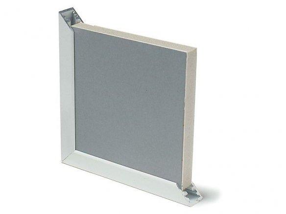 Aluminium frame profile, U-form