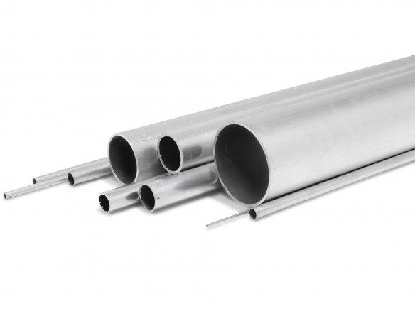 Tubo rotondo di alluminio