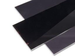 Plexiglas GS coloured, black & white custom cutting