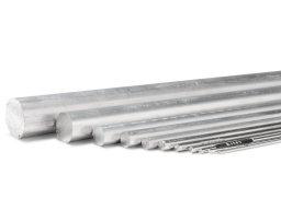Barra tonda di alluminio