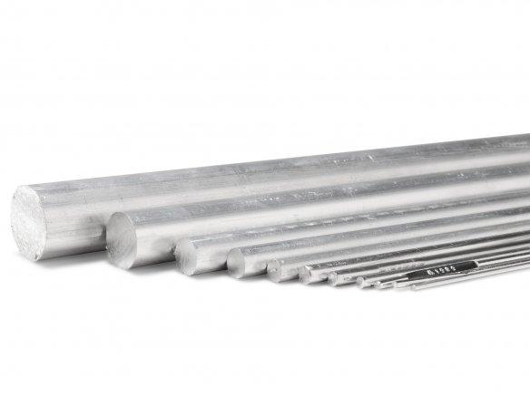 Round rod, aluminium