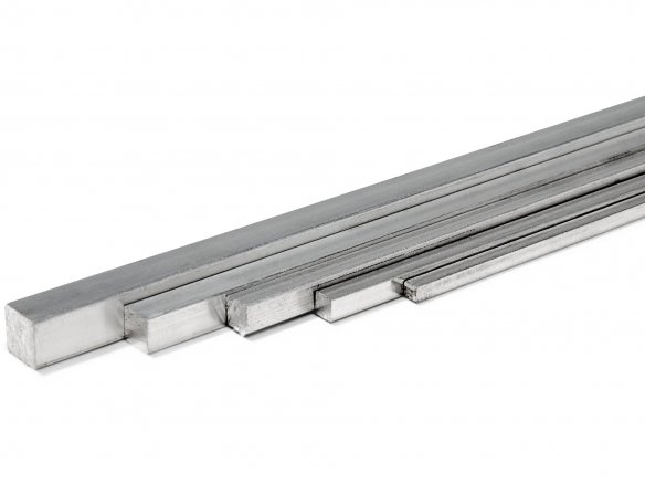 Barra cuadrada de aluminio