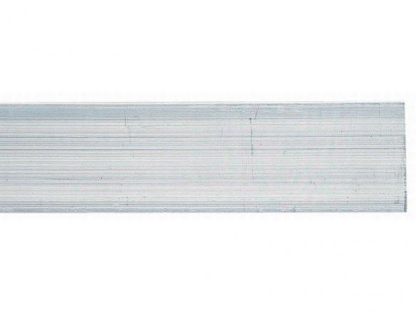 Barra rettangolare di alluminio