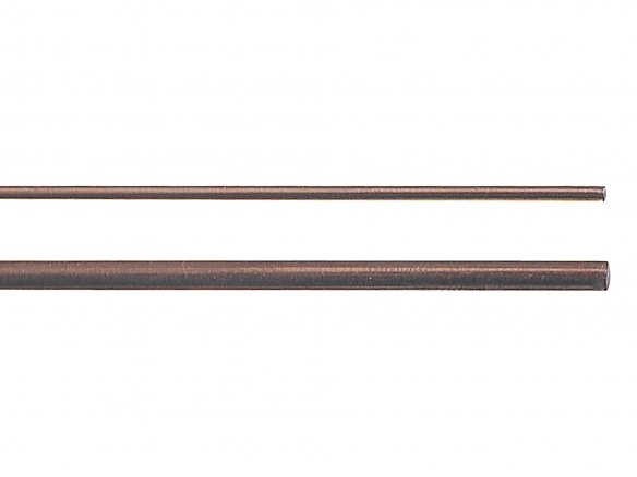 Steel welding rod, straightened