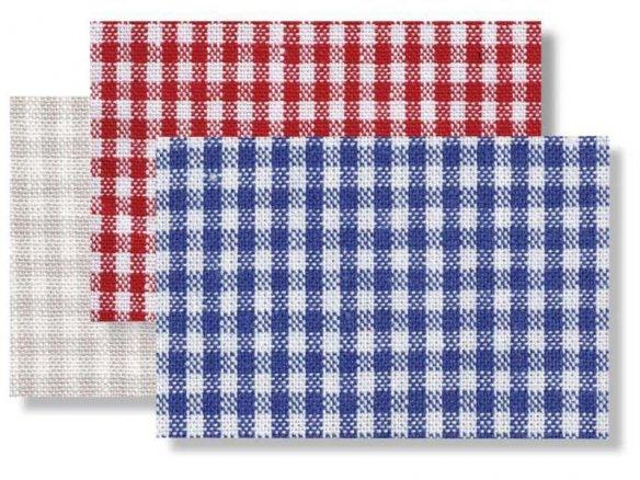 Tela de algodón cuadro Vichy, 2,5 x 2,5 mm (5581)