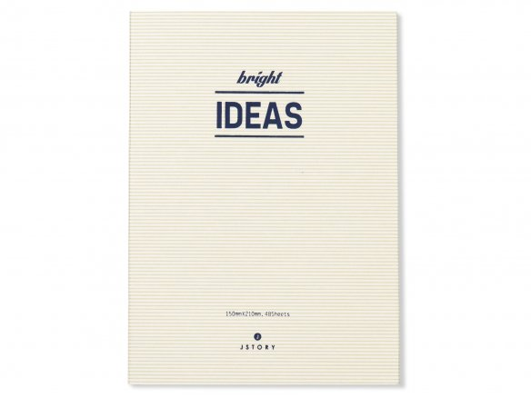 Jstory Bright Ideas, Notizbuch