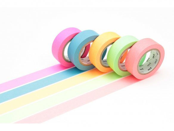 Mt Gift Box Masking Tape, Washi Klebeband uni