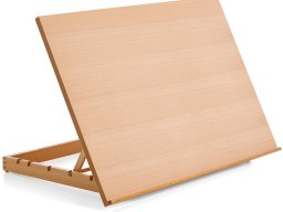 Table easel (drawing board), beechwood, tiltable