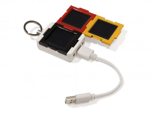 Sonnenrepublik Clicc*xtra solar charging set