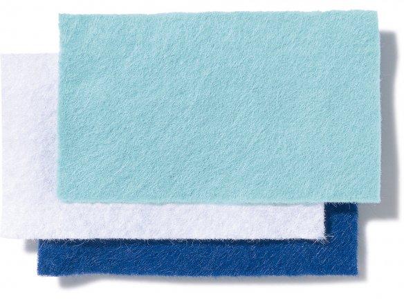 Bastel- und Dekofilz, farbig