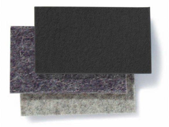 100% Wollfilz, farbig, 5 mm