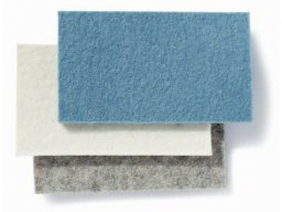 100 % Wool felt cut-outs (place mats), 3 mm