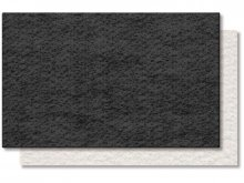Technical needled felt, unstiffened, monochrome