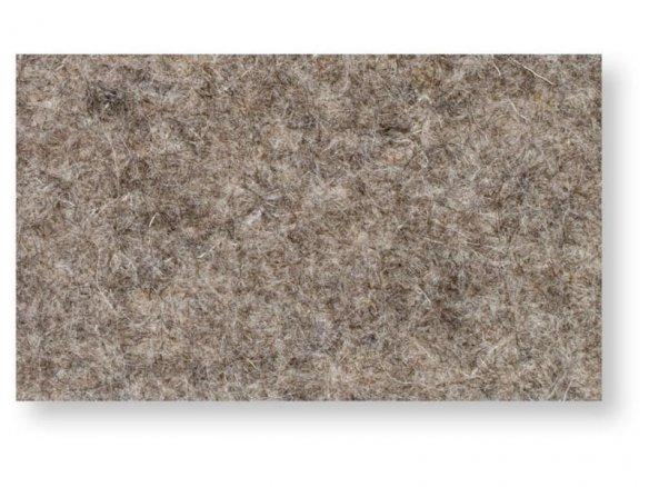 100% de fieltro de lana, grueso, no teñido