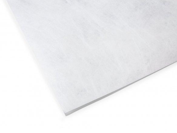 Vellón hilado de PE Tyvek, blanco, rígido