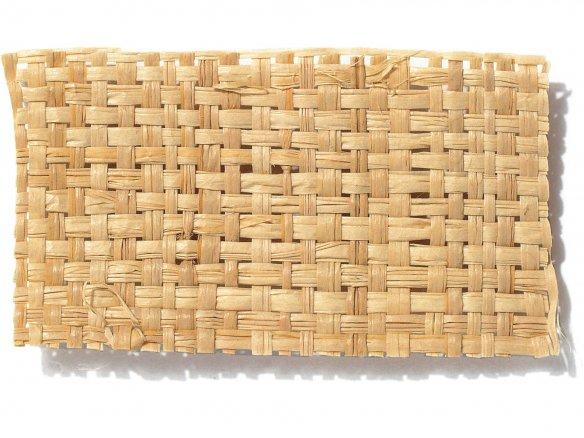 Bast weave fabric