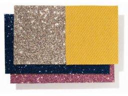 Tejido Glitter, de color