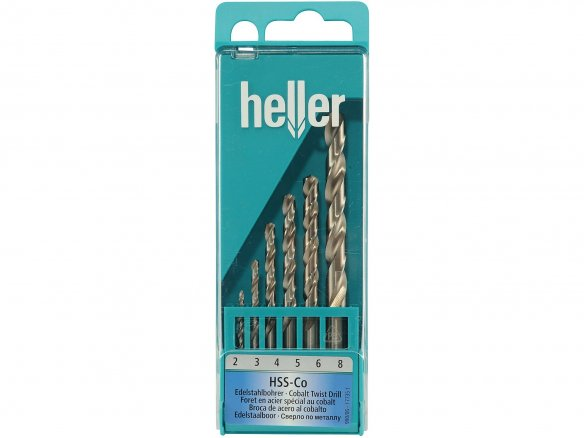 Heller stainless steel drill set