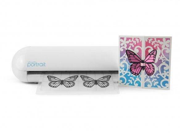 Auto-Blade Gratis Software Schneideplotter SILHOUETTE PORTRAIT 2 mit Bluetooth