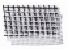 Fibreglass fly screen, fixed mesh