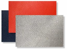 Synthetic leather with knitted backing (1268)