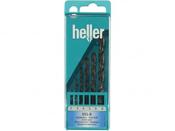 Heller steel drill set