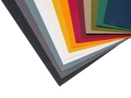 Brillianta bookbinding cloth, coloured