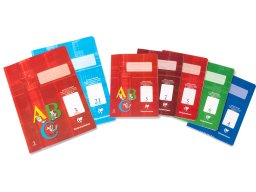 Clairefontaine Academy school notepad