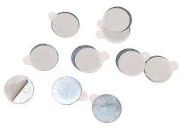 Round blank, metal, self-adhesive, th = 0.3 mm