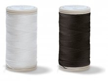 Coats Duet sewing thread, No.100, black/white