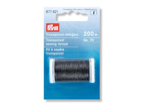 Prym polyamide sewing thread No. 70, transparent