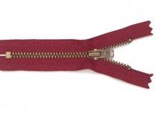 Zip fastener, metal antique, 5 mm, not separable