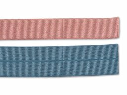 Edge binding tape, rib weave, elastic