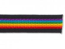 Rainbow mesh tape