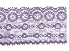 Jacquard trimming lace, circles