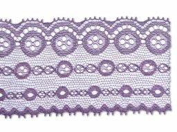 Jacquard trimming lace, circles