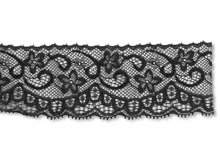 Jacquard trimming lace, blossoms