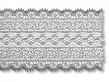 Jacquard trimming lace, stripes