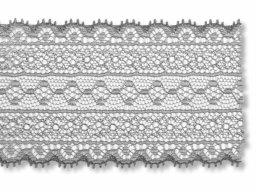 Jacquard trimming lace, stripes