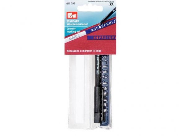 Laundry marking set, iron-on (611793)