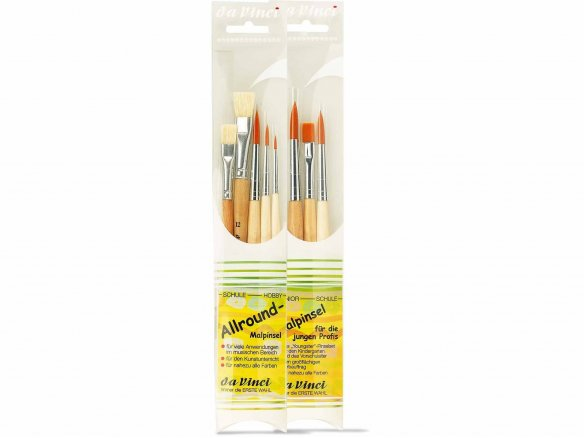 Da Vinci Schulpinsel Junior Synthetics, Set
