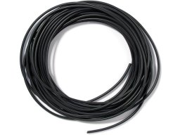Rubber cord, round, black