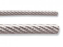 Steel wire rope, PVC sheath